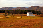Kathleen K Parker - Autumn Barn in Green Bank WV