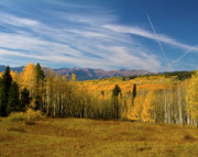 Panorama Mountain Images Prints - Autumn Beauty Print by Crystal Garner