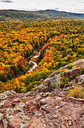 Fall Color Print Framed Prints - Autumn Blaze Framed Print by James Marvin Phelps