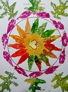 Autumn Chakra Print by Sonali Gangane