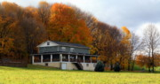 Pennsylvania Art - Autumn Colors by Chuck Kuhn