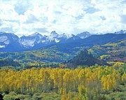 "The Natural World Prints - ""autumn Colors In The Sneffels Mountain Range, Dallas Divide, San Juan National Forest, Colorado"" Print by VisionsofAmerica/Joe Sohm"