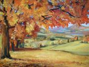 Mona Davis - Autumn composition