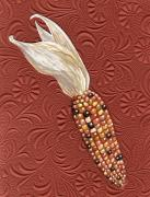 Vegetables Originals - Autumn Corn Mix by Carrie Auwaerter