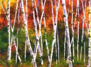 Birch Trees Originals - Autumn Daze by Marsha Elliott