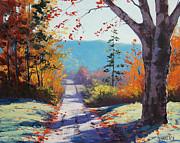Autumn Delight Print by Graham Gercken