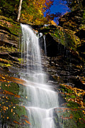 Pa State Parks Photos - Autumn Falls - 46 by Paul W Faust -  Impressions of Light
