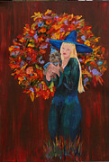 Hallows Paintings - Autumn Fantasy by Gail Daley