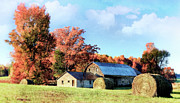 Colors Of Autumn Prints - Autumn Farm II Print by Dan Carmichael