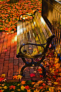 Boston Ma Prints - Autumn fever Print by Ludmila Nayvelt