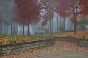 Scenic Idaho Prints - Autumn Fog Print by Idaho Scenic Images Linda Lantzy