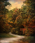 Autumn Forest 1 Print by Jai Johnson