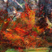 Fall Leaves Prints - Autumn Fusion 2 Print by Jeff Breiman