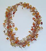 Autumn Jewelry - Autumn Glory by Linda Bishop