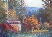 Shed Pastels - Autumn Glory by Pamela Pretty