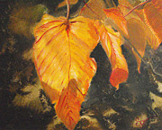 Brilliant Paintings - Autumn Glory by Susan Bruner