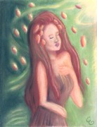 Earth Pastels - Autumn Goddess by Cassandra Geernaert