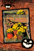 Party Digital Art - Autumn Harvest - Greetings and Invitations by Thomas Schoeller
