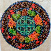 Celts Posters - Autumn Poster by Helen Carson