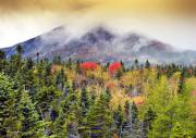 Baxter Framed Prints - Autumn in Baxter State Park Maine Framed Print by Brendan Reals