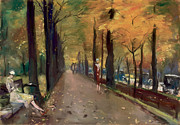 Berlin Painting Posters - Autumn in Berlin 1925 Poster by Stefan Kuhn