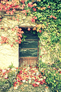 Abandoned House Photos - Autumn in France by Georgia Fowler