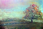 Stonewall Paintings - Autumn in New England by Stephen Brewer