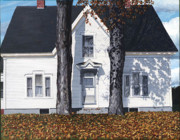 Maine Paintings - Autumn in Pownal by Michael Ward