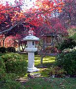 Japanese Originals - Autumn in the Japanese Garden by John Lautermilch