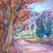 Northwest Paintings - Autumn in the Park by Quin Sweetman