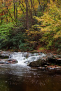 Park Scene Photo Prints - Autumn in the Smokies Print by Andrew Soundarajan