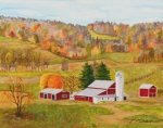Vermont Autumn Originals - Autumn by Ivonne Campbell