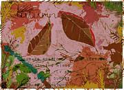 Autumn Print by Jan Steadman-Jackson