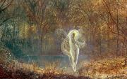Ghostly Posters - Autumn Poster by John Atkinson Grimshaw