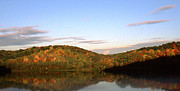 Autumn Lake Panoramic Print by Thomas R Fletcher
