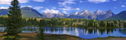 Idaho Scenery Posters - Autumn Lake Poster by Scott Mahon