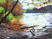 Sergey Zhiboedov - Autumn Lake