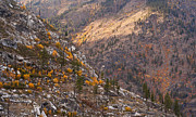 Leavenworth Photos - Autumn Layers by Mike Reid