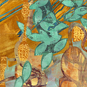 Autumn Prints Mixed Media Posters - Autumn Light Poster by Alexandra Sheldon