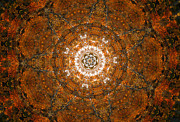Unity Digital Art Posters - Autumn Mandala 3 Poster by Rhonda Barrett