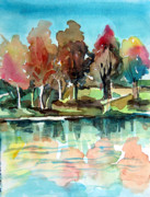 Dreamscape Originals - Autumn Mirror by Mindy Newman