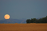 Bruce Gourley - Autumn Moonrise Over...