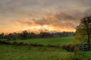 Autumn Morning Print by David Bishop