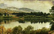 Margaret Hormann Bfa Framed Prints - Autumn on the Lake Framed Print by Margaret Hormann Bfa