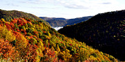 Green Clouds Prints - Autumn Panoramic Print by Thomas R Fletcher
