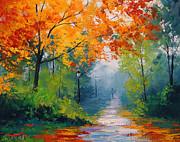 Autumn Park Print by Graham Gercken