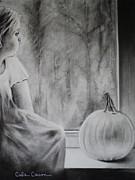 Autumn Rain Print by Carla Carson