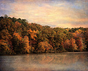 Autumn Landscape Art - Autumn Reflections 1 by Jai Johnson
