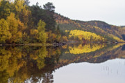 Lofoten Islands Framed Prints - Autumn reflections 3 Framed Print by Heiko Koehrer-Wagner