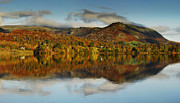 Wainwrights Posters - Autumn Reflections Grasmere Poster by Stewart Smith